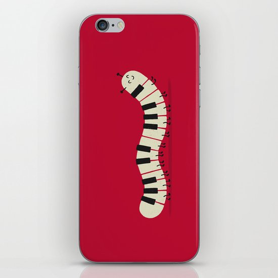 Caterpiano iPhone & iPod Skin