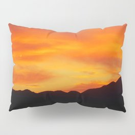 Fire in the Sky Pillow Sham