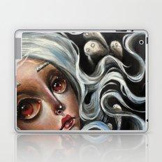White Spirits :: Pop Surrealism Painting Laptop & iPad Skin