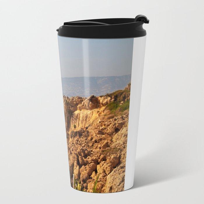 The sea coast Travel Mug