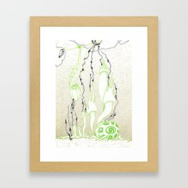 Nature grabs Framed Art Print