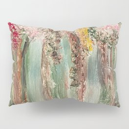 Woods in Spring Pillow Sham