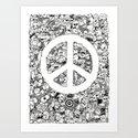 Peace Doodle by kerbyrosanes