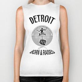 Detroit - Born & Raised - Dark Biker Tank