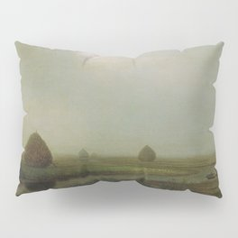 Jersey Marshes 1874 By Martin Johnson Heade   Reproduction Pillow Sham