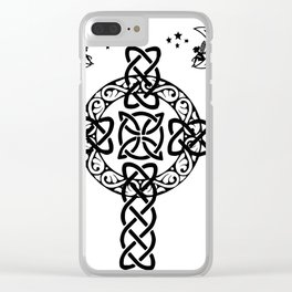 Celtic Clear iPhone Case