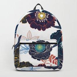 Floral Samples Backpack