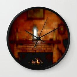 Keep Warm Wall Clock