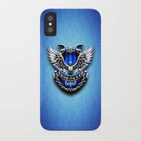 ravenclaw iPhone & iPod Cases featuring HARRY POTTER RAVENCLAW by Veylow