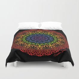 Namaste Mandala Duvet Cover