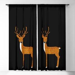 GLITTER DEER II Blackout Curtain