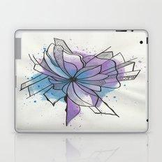 Explosion Flower Blue and Purple Laptop & iPad Skin