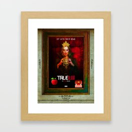 """THE MIRROR """"The Bloody Truth"""" Framed Art Print"""