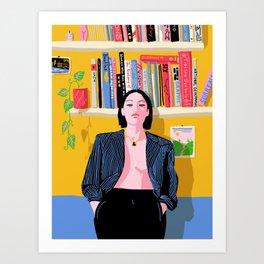 Capricorn Karma Art Print