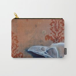 Oil Paint Study - Magpie Pattern Carry-All Pouch