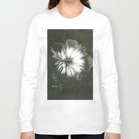 peony Long Sleeve T-shirts featuring peony by half of ten