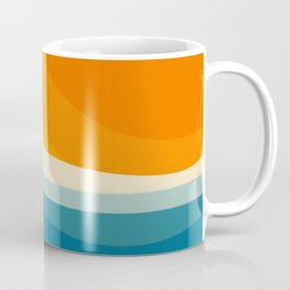 Abstract landscape art Coffee Mug