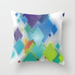 Original Abstract Duvet Covers by Mackin & MORE Throw Pillow