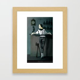 The Hatchet League  - Anca Framed Art Print
