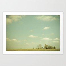 The Farm. Art Print