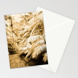 Subtropical vegetation Stationery Cards
