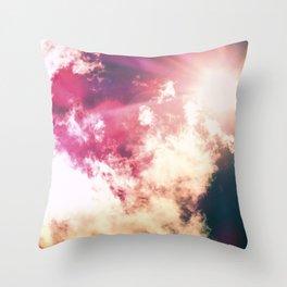 Magical Day Throw Pillow