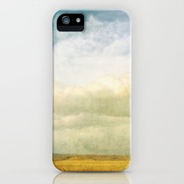 As Wide as the Sky iPhone Case