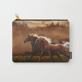 A Race at Sunset Carry-All Pouch