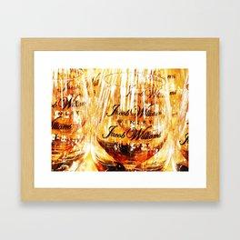 Jacob's Stemware Framed Art Print