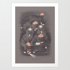 Neighborhood Watch (At Dawn) Art Print