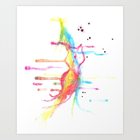 Watered Down Beauty Art Print
