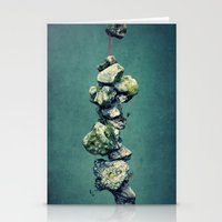 stone Stationery Cards featuring stone by Claudia Drossert