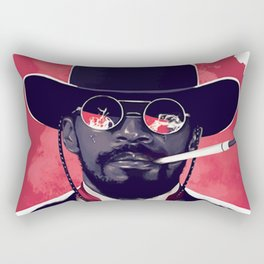 Jamie Foxx Django Unchained - Django Art Rectangular Pillow