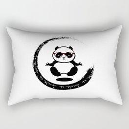 Yoga Panda Rectangular Pillow