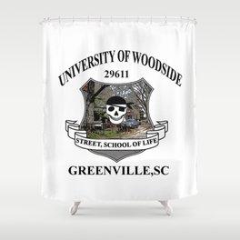 Woodside Greenville University Shower Curtain