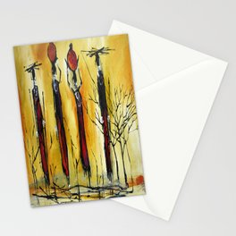 African Pride 3 Stationery Cards