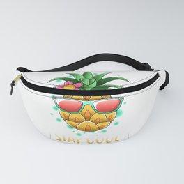 Pineapple Sunglasses Aloha Hawaii Honolulu Fanny Pack