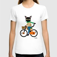 cycling T-shirts featuring Whim's cycling by BATKEI