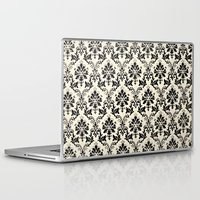 damask Laptop & iPad Skins featuring Damask by MJ Lira Photography