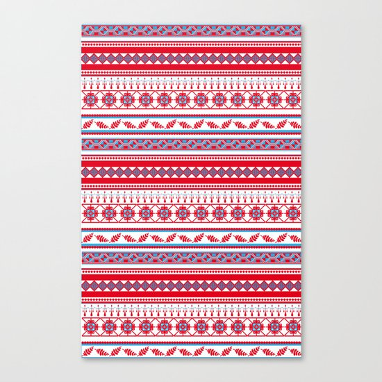 Eastern Lines Canvas Print