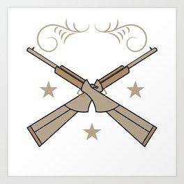"A Shooting Tee For Granny ""Best Buckin' Grandpa"" T-shirt Design Deer Hunting Shoot Animal Outdoor Art Print"