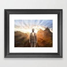 Dat Shit Cray Framed Art Print