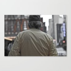 Back Canvas Print
