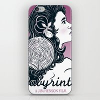 labyrinth iPhone & iPod Skins featuring Labyrinth by Yuri Meister