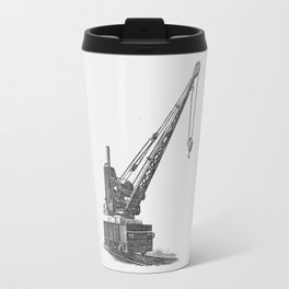 Railroad crane Travel Mug