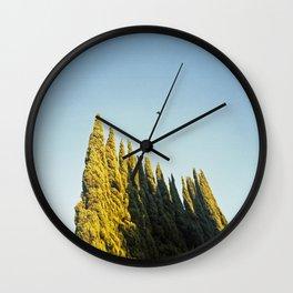 Peaks Wall Clock
