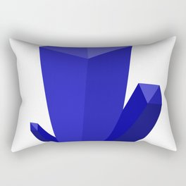 Beautiful Blue Gems Rectangular Pillow