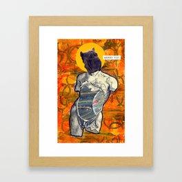 Divine Dog -- Shar Pei Framed Art Print
