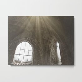 The Old Abbey Chapel Metal Print