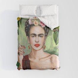 Frida con Amigos Comforters